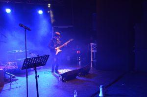 gitarist podium