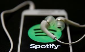 koptelefoon met Spotify logo